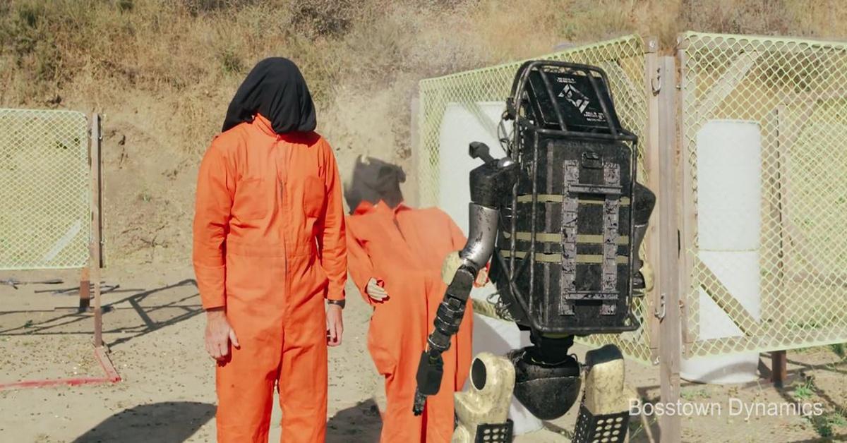 Robot strzela jak zawodowy żołnierz