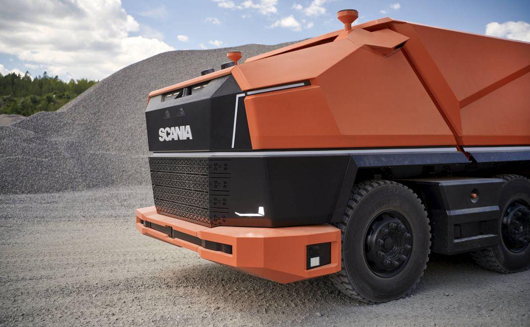 Ciężarówka Scania AXL – Autonomiczna ciężarówka