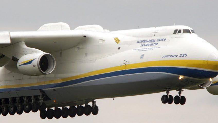Antonov An-225 Mrija - największy samolot na świecie.