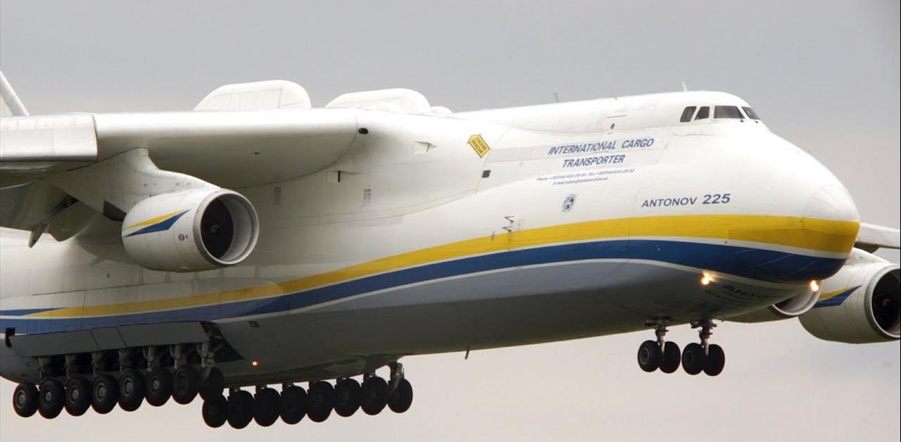 Antonov An-225 – Co kryje w sobie największy samolot świata?
