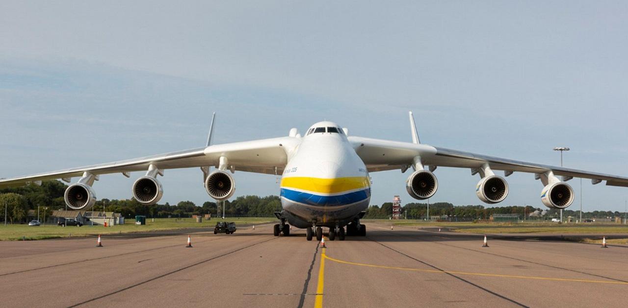 Antonov An-225 - największy samolot transportowy świata
