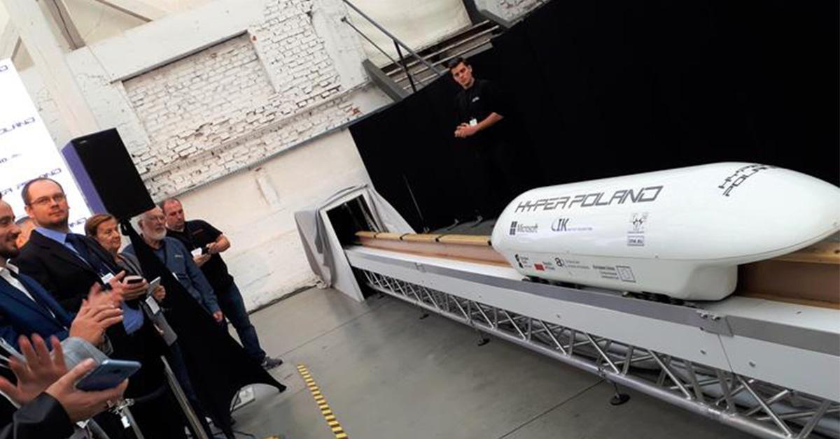 Hyper Poland - tak wygląda model polskiego hyperloopa