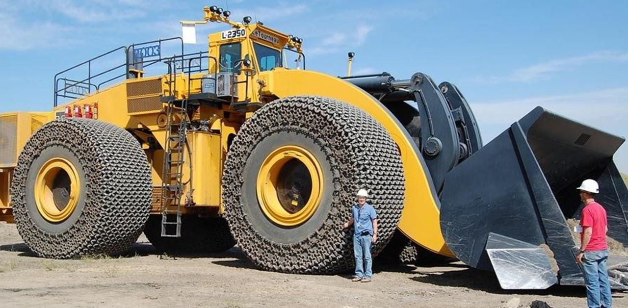 Le Tourneau L2350 - największa ładowarka kołowa na świecie