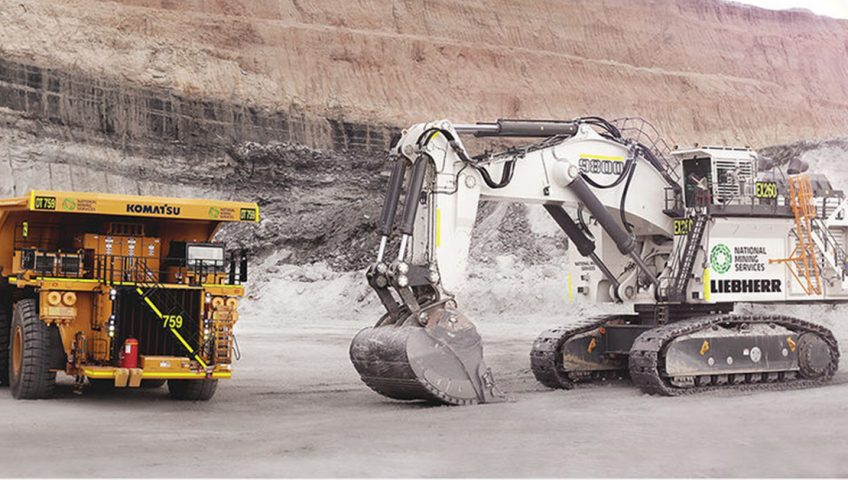 Liebherr R 9800 - Największa koparka hydrauliczna na świecie
