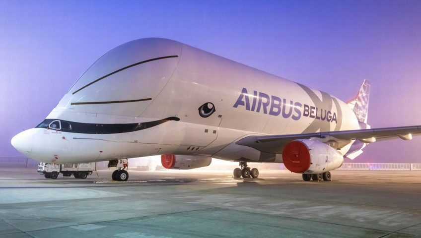 Beluga XL - Latający wieloryb, najsłodszy samolot na świecie