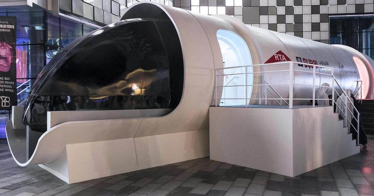 Hyperloop kapsuły pasażerskie