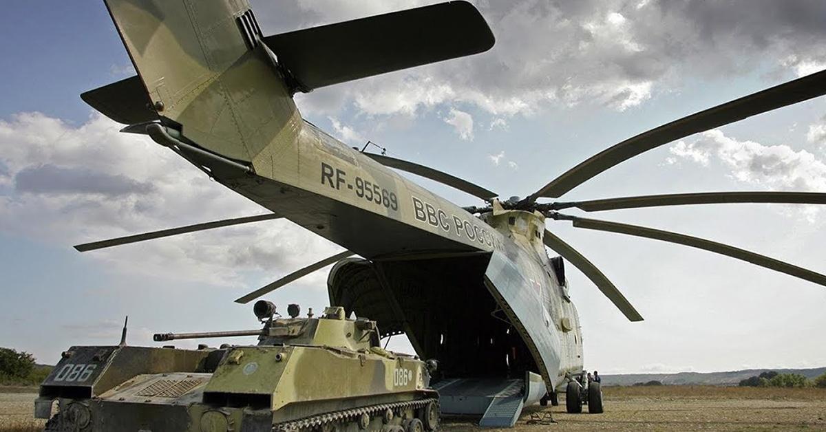 Mi-26 największy śmigłowiec świata