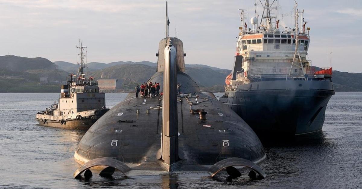 Okręty projektu 941 Akuła - Typhoon
