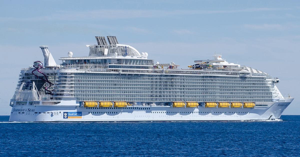 Symphony of the Seas - największy statek pasażerski świata
