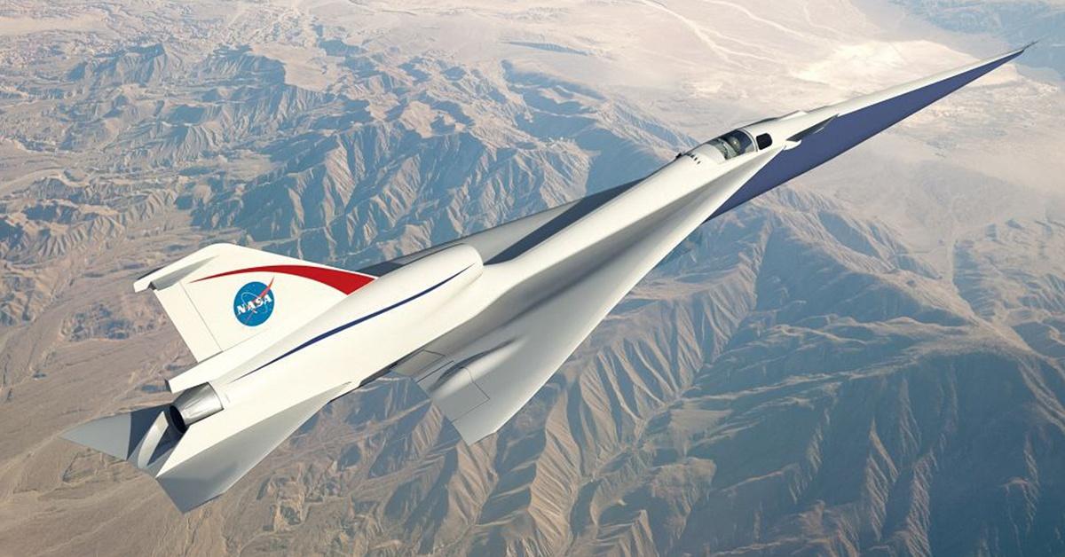 X-59 został oficjalnie potwierdzonym projektem. (NASA)