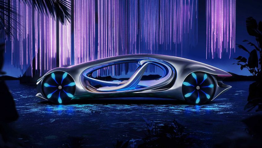 Mercedes Vision AVTR - Samochód z przyszłości