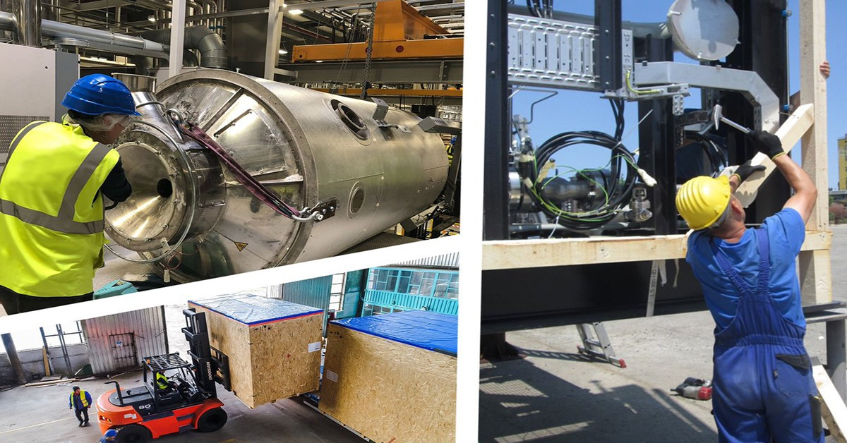Relokacja maszyn, urządzeń i linii produkcyjnych.