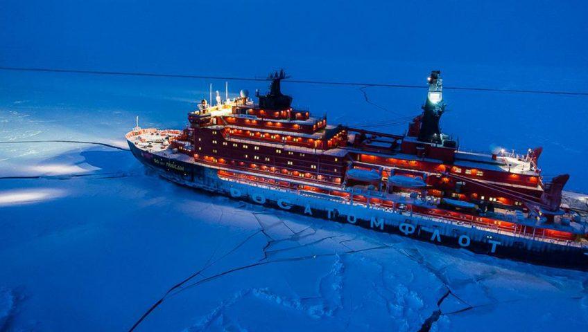 50 Let Pobedy - największy lodołamacz świata.