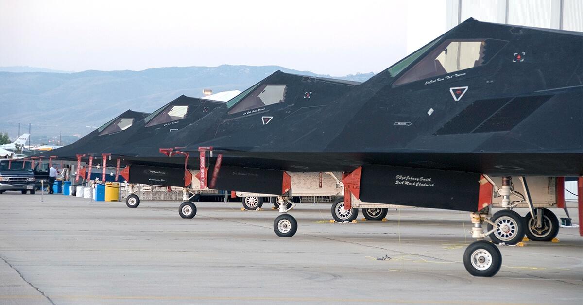 Formalnie F-117 powinny już być na emeryturze od 2008 roku.