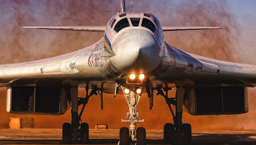 Rosyjski Tupolew Tu-160