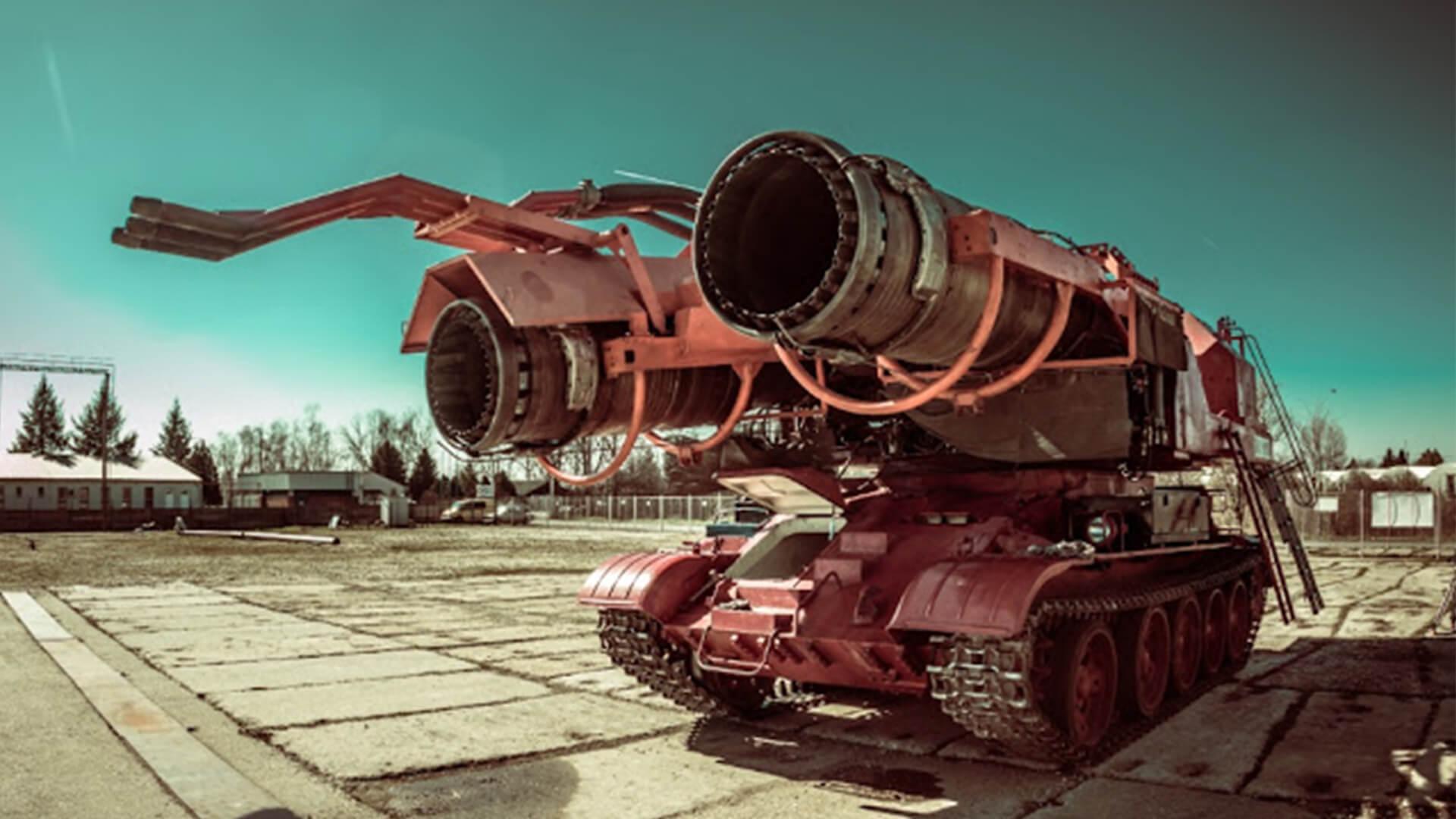 Big Wind – najpotężniejszy pojazd strażacki na świecie jaki kiedykolwiek zbudowano.