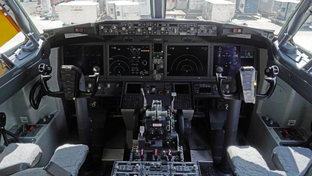 Kokpit B-1b Lancer