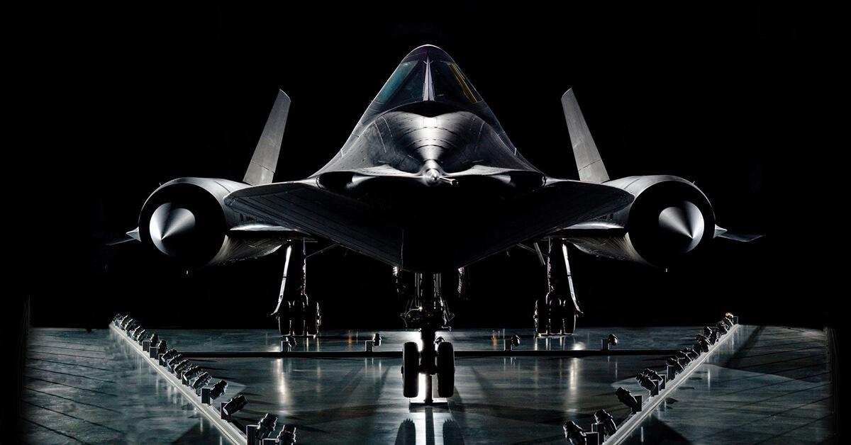 SR-71 Blackbird - najszybszy samolot w historii lotnictwa