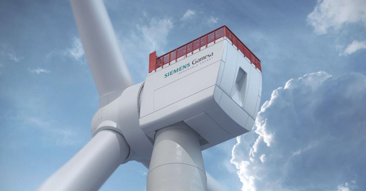 Siemens Gamesa - największa turbina wiatrowa na świecie.