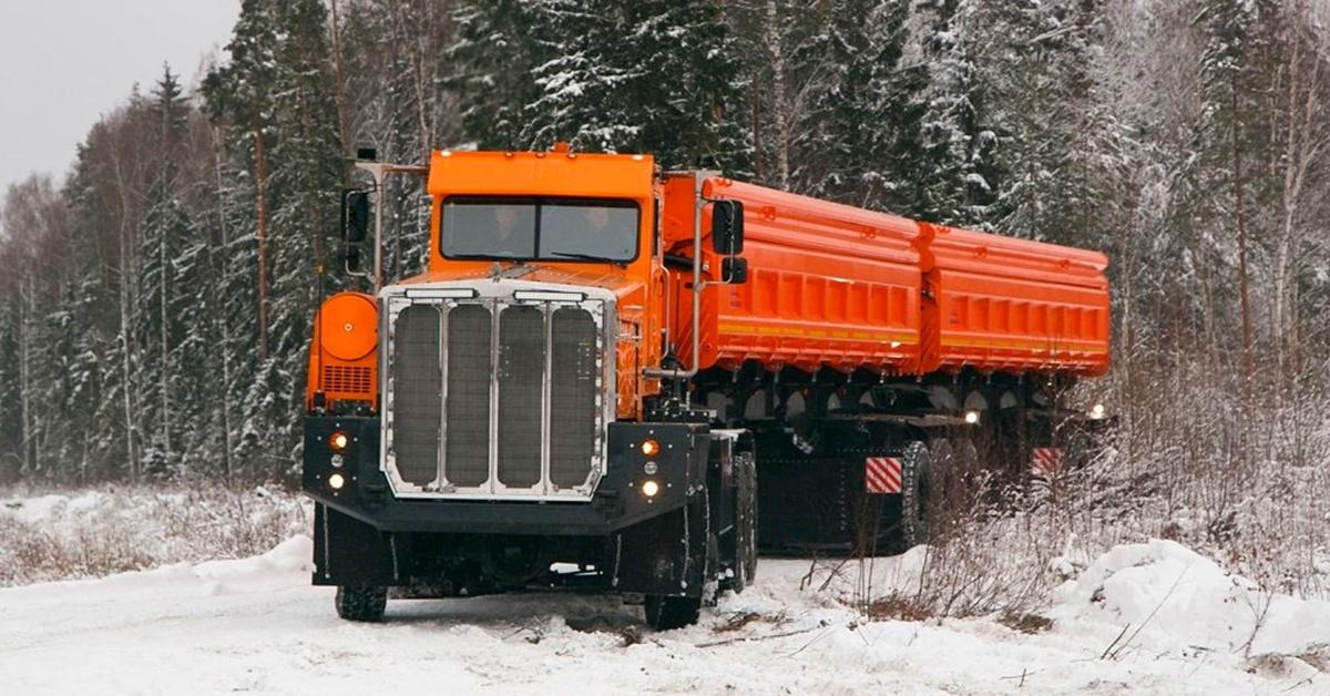 Ciężarówka Tonar-7502