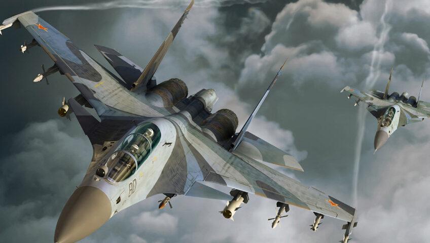 Rosyjskie myśliwce Su-57 trafiły do seryjnej produkcji.