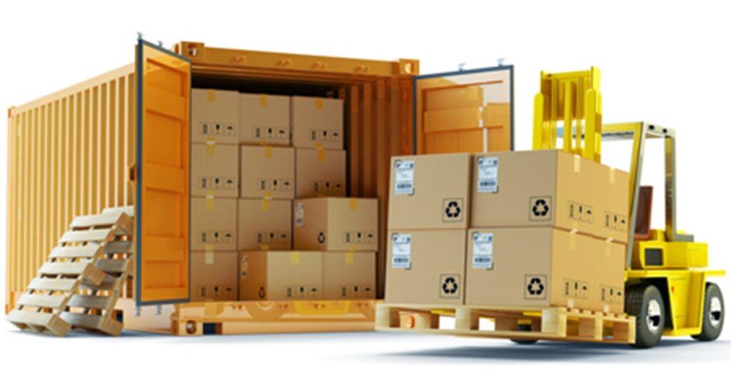 Transport morski - opakowania przemysłowe i eksportowe.