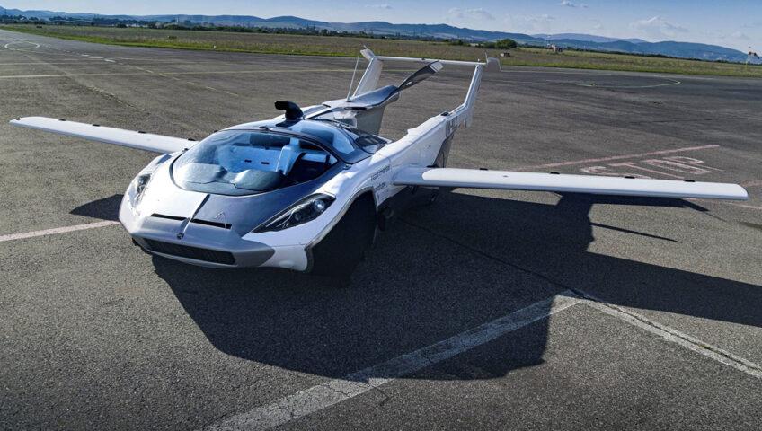 Latajacy Pojazd AirCar firmy Klein Vision